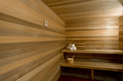 Ladies sauna