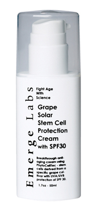 Emerge Labs Grape Solar Protection Cream