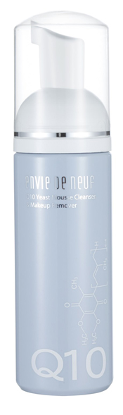 Envie De Neuf Q10 Yeast Mousse Cleanser & Makeup Remover