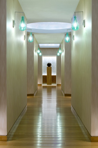 Hallway at MySpa at the Fairmont Chicago Millennium Park
