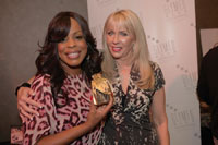 From left, actress Niecy Nash with C. Heathman.