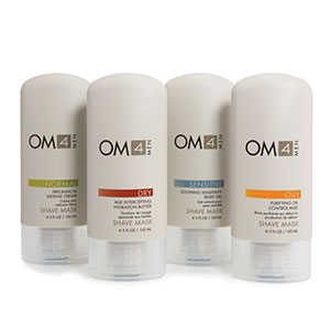 OM4 Men's Dry Shave Masks