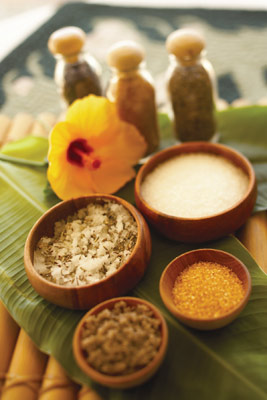 Waikiki Plantation Spa Ingredients