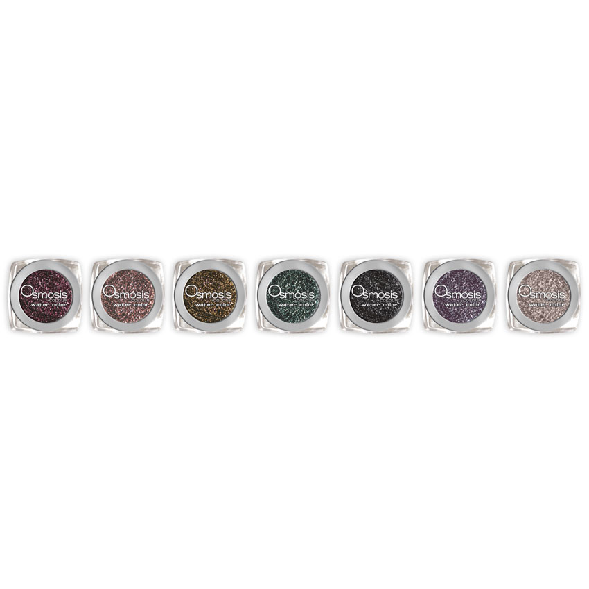 Osmosis Colour Mineral Cosmetics's Water Color High Intensity Loose Eyeshadows