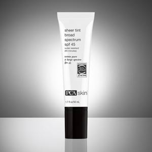 PCA Skin's Sheer Tint Broad Spectrum SPF 45