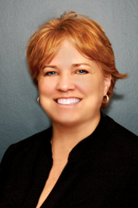 Patti Barkey, practice manager for Bowden Eye Associates
