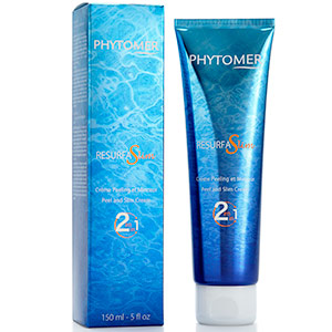 Phytomer's RESURFASLIM 2-in-1 peel and Slim Cream