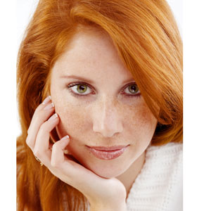 red head skin care