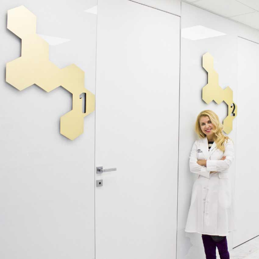 Julie Russak, M.D., at Russak+ Aesthetic Center