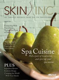 Skin Inc. January 2006 cover