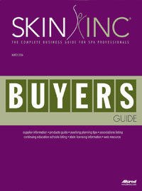March 2006 Skin Inc. Buyers Guide Cover