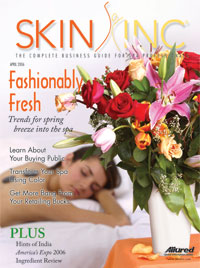 Skin Inc. April 2006 cover