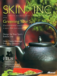 Skin Inc. May 2006 cover