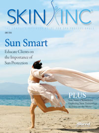 June 2006 Skin Inc. Cover
