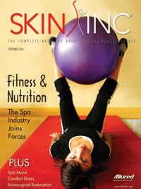 September 2006 Skin Inc. Cover