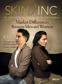 Skin Inc. January 2007 cover