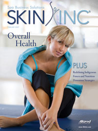 February 2007 Skin Inc. Cover