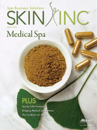 March 2007 Skin Inc. Cover