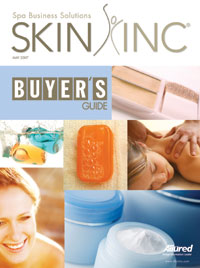 Skin Inc. May 2007 cover