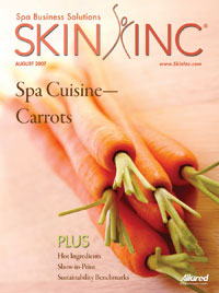 Skin Inc. August 2007 cover