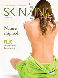 October 2007 Skin Inc. Cover