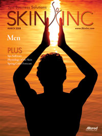 March 2008 Skin Inc. Cover