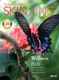 June 2008 Skin Inc. Cover