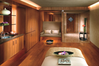 Mandarin Oriental treatment room