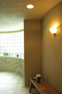 Treatment area of Reverie Spa Retreat