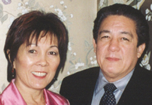 Pat and Hubert Lam
