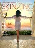 October 2008 Skin Inc. Cover