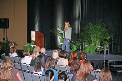 Rhonda Britten at Face & Body 2008