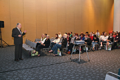 Peter T. Pugliese, MD's, class during Face & Body 2008