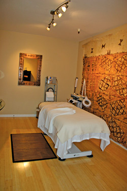 Aloha Skin Spa treatment room