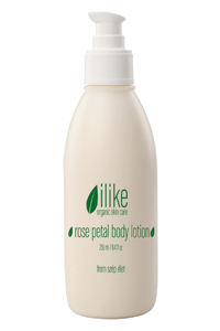 Szep Elet ilike organic skin care Rose Petal Body Lotion