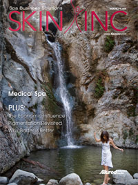 Skin Inc. March 2009 cover