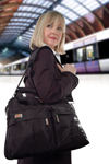 Woman wearing Bio-Therapeutic, Inc. bt-GEAR bag