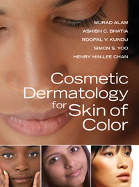 McGraw Hill Professional Cosmetic Dermatology for Skin of Color book