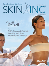 Skin Inc. September 2009 cover