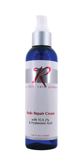 Rose Skin Care Body Repair Cream