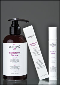 Skintinu Lift Eye Serum and Lift BioReform Moisturizer