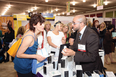 Owners and suppliers interact at Face & Body 2009