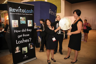 Revitalash's booth at Face & Body 2009