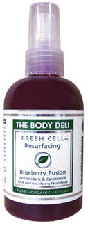 The Body Deli Blueberry Fusion Resurfacing Facial Wash