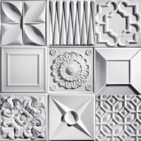 Ceilume decorative ceiling tile
