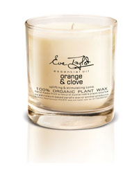 Eve Taylor Organic Aromatherapy Orange and Clove Candle