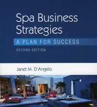 Milady Spa Business Strategies: A Plan for Success, second edition book cover