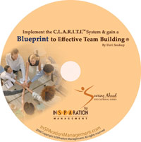 InSPAration Management The Blueprint to Effective Team Building With the C.L.A.R.I.T.I. Hiring System CD