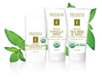 Eminence Organic Skin Care USDA personal care collection