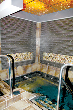 The Spa at Wind Creek's Cold Plunge